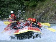 Rafting, Canoying und Hydrospeed